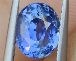1.71cts No Heat, Certified  Sapphire,