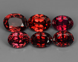 3.55 CTS  DAZZLING GOOD LUSTER 100% NATURAL FANCY RED SPINEL GEMSTONE!!