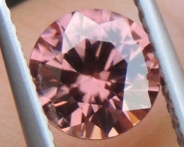 1.42cts Pink  Zircon,  Top Cut,  Clean,  Unheated