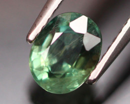 1.72Ct Natural African Bluish Green Sapphire Traditional Heated ES0503