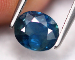 1.35Ct Natural African Twilight Blue Sapphire Tradtional Heated ES0504