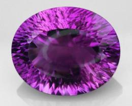 19.75 VVS Deep Purple Master Cut Amethyst
