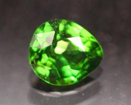Top Quality 0.40Ct Natural Vivid Green Tsavorite Pear Cut E2914
