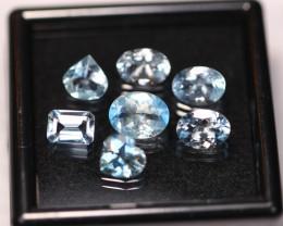 6.91Ct Natural VS Clarity Blue Color Aquamarine ~ B2913