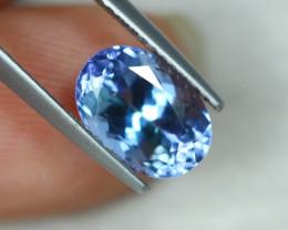 2.81ct Greenish Violet Blue Tanzanite Oval Cut Lot GW3103
