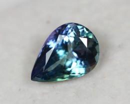 2.14Ct Greenish Violet Blue Tanzanite Pear Cut Lot LZ1760