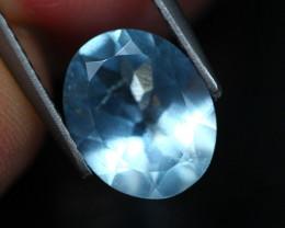 2.13Ct Natural VS Clarity Blue Aquamarine AS0607