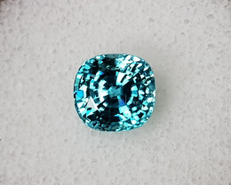 5,85ct Swiss Blue Zircon - Master cut!