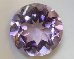 Incredibly beautiful Pink Lilac Unique Cut Amethyst 5.84cts VVS gem