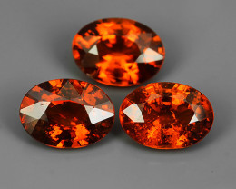2.80 CTS EXQUISITE TOP FIRE NATURAL NICE COLOR SPESSARTITE GARNET