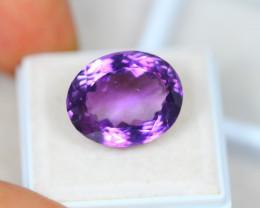 16.33Ct  Purple Amethyst Oval Cut Lot E17
