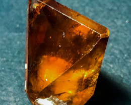 158Ct Gemmy Imperial Topaz Crystal Fully Terminated Undamaged Specimen