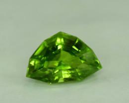 7.80 Carats Top Quality Fancy Cut Peridot Gemstone