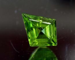 4.35 Carats Top Quality Fancy Cut Peridot Gemstone
