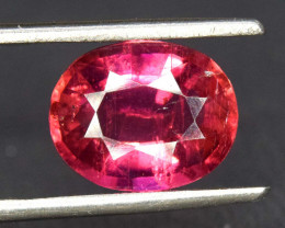 S#31-62 , 3.50 cts Natural Rubelite Tourmaline Gemstone