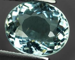 2.00 Cts Sparkling Luster - Oval Gem - Natural Blue -Aquamarine NR!!!