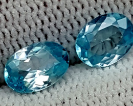 2.45CT BLUE ZIRCON  BEST QUALITY GEMSTONE IGC49