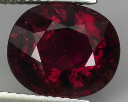CERTIFIED 6.02 CTS GORGEOUS RARE NATURAL RUBELITE TOURMALINE NR!!