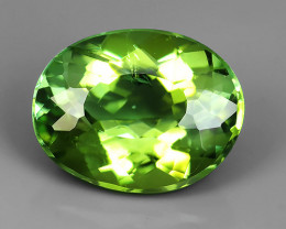 CERTIFIED~2.77 CTS AWESOME NICE  NATURAL GREEN TOURMALINE FACET GENUINE
