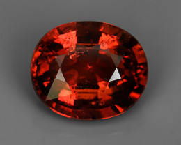 CERTIFIED~4.27  CTS GENUINE NATURAL EARTH MINED UNHEATED ORANGE PINK -TOURM