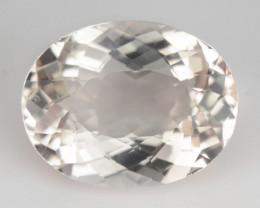 ~GORGEOUS~ 2.17 Cts Natural Light Peach Morganite Oval Cut Brazil
