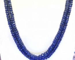 345 Crt Sapphire Natural Beads Necklace