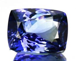~GORGEOUS~ 6.85 Cts Natural Tanzanite Purplish Blue Cushion Cut Tanzania