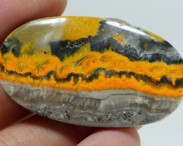 BUMBLEBEE JASPER  NATURAL  AA  GRADE GREAT PATTERN 54.05 CRT -A30-