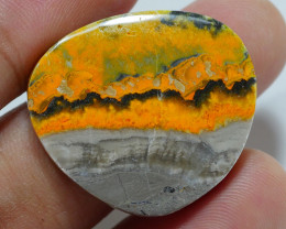 BUMBLEBEE JASPER  NATURAL  AA  GRADE GREAT PATTERN 30.70 CRT -A31-