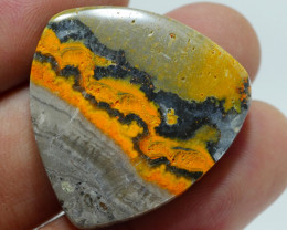 BUMBLEBEE JASPER  NATURAL  AA  GRADE GREAT PATTERN 35.00 CRT -A33-