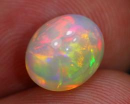 2.50Ct Natural Multi Color Ethiopian Welo Opal ES0809
