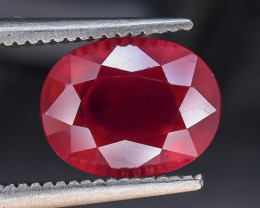 3.59 Crt Composite Ruby Faceted Gemstone (R12)