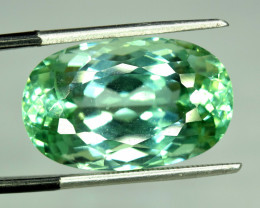 No Reserve - 23.10 Carats Lush Green Spodumene from Afghanistan