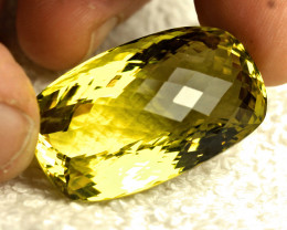 CERTIFIED - 88.88 Carat VVS African Lemon Quartz - Gorgeous
