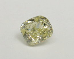 0.90ct Natural Light Yellow Diamond GIA certified