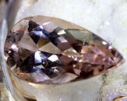 3.49 cts  CERTIFICATE ORNAGY PINK Morganite TBM-1632