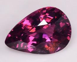 1.36 Cts Natural Grape- Purple Garnet Excellent Color ~ GN 4