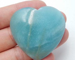 Amazonite Cabochons Heart GemstoneHandmade Gemstone B360