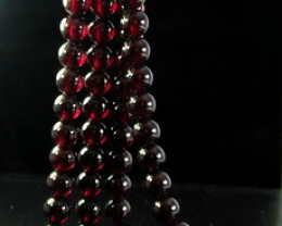 2 Pcs 500 ct Unheated ~ Natural Brown color Garnet Beads