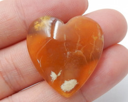 Agate Pendant ,Natural Gemstone Pendant  ,Heart Pendant ,Wholesale B373