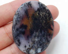 Dendritic opal Cabochon,semi-precious stones, jewelry accessories B199
