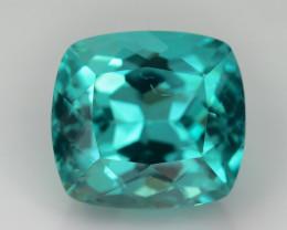 Rare 3.53 ct Neon Blue Color Apatite SKU.2