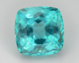 Caribbean Green Apatite 2.60 ct Eye Catching Color  SKU.2