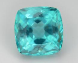 Rare 2.60 ct Neon Blue Color Apatite SKU.2