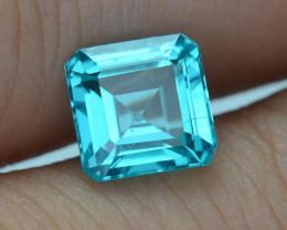Rare 1.67 ct Neon Blue Color Apatite SKU.2