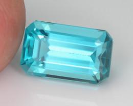 Rare 2.67 ct Neon Blue Color Apatite SKU.2