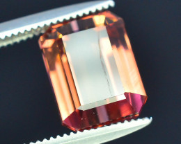 AAA Grade 3.70 ct Amazing Yellowish Pink Tourmaline