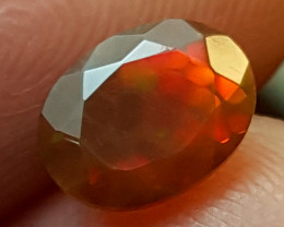 0.90Crt Opal Top fire  Best Grade Gemstones JI148
