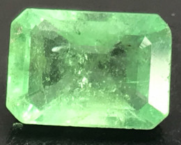 3.19 ct natural untreated Emerald. Emerald Cut.