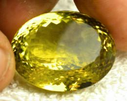 CERTIFIED - 83.68 Carat VVS African Lemon Quarz - Gorgeous